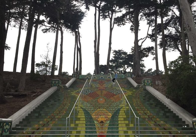 Lincoln Park Steps San Francisco