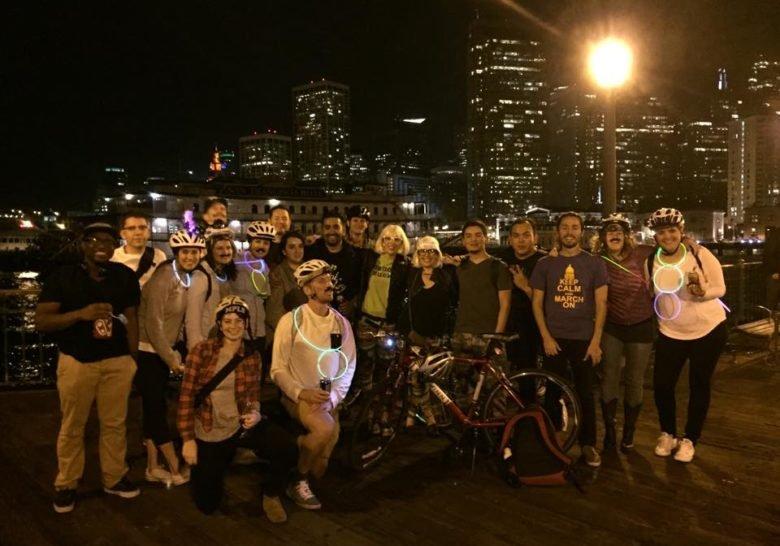 Midnight Mystery Ride San Francisco