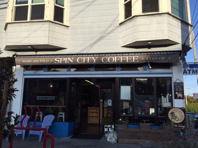 Spin City Launderette San Francisco