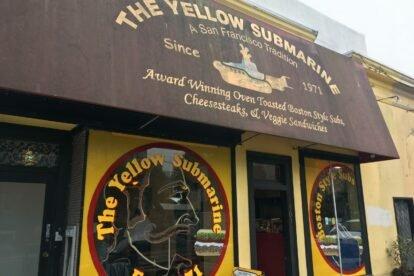 Yellow Submarine Sandwiches San Francisco