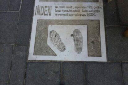 Cult Sarajevo Band INDEXI Sarajevo