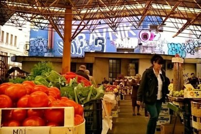 Markale open market Sarajevo