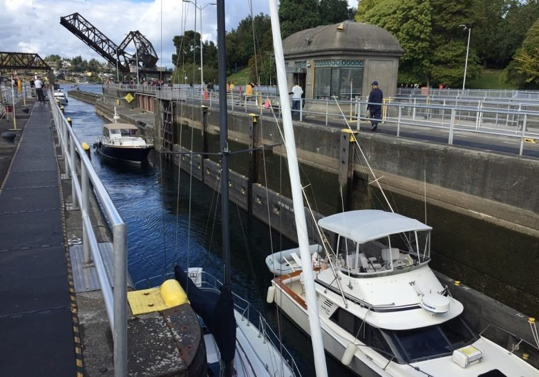 Ballard Locks Seattle
