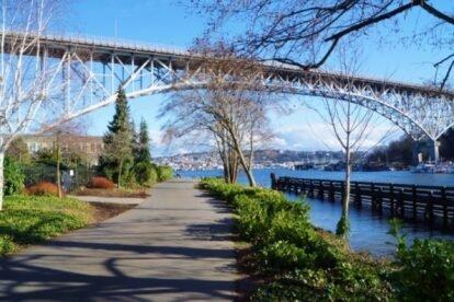 Burke-Gilman Trail Seattle