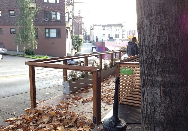 E Olive Way Parklet Seattle