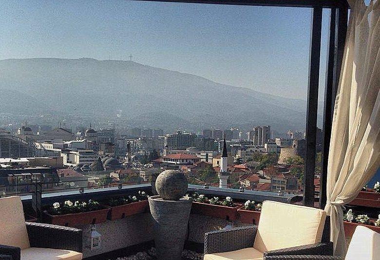 Hotel Arka terrace Skopje