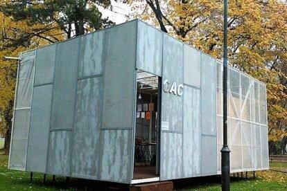 Mobile Quonset Hut Gallery Skopje