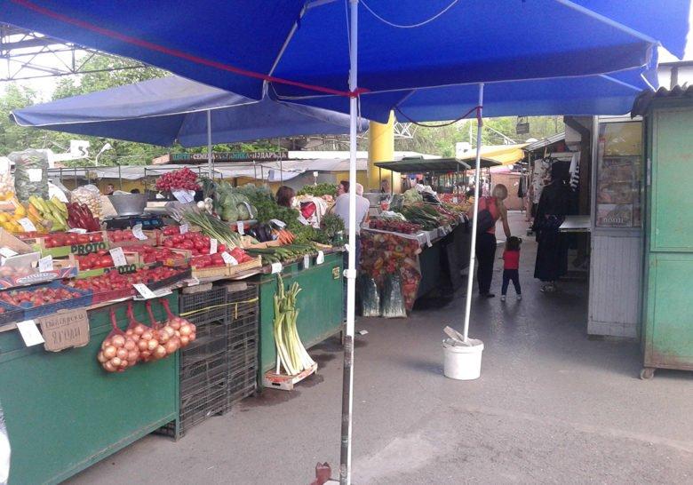 Ivan Vazov farmer's market Sofia