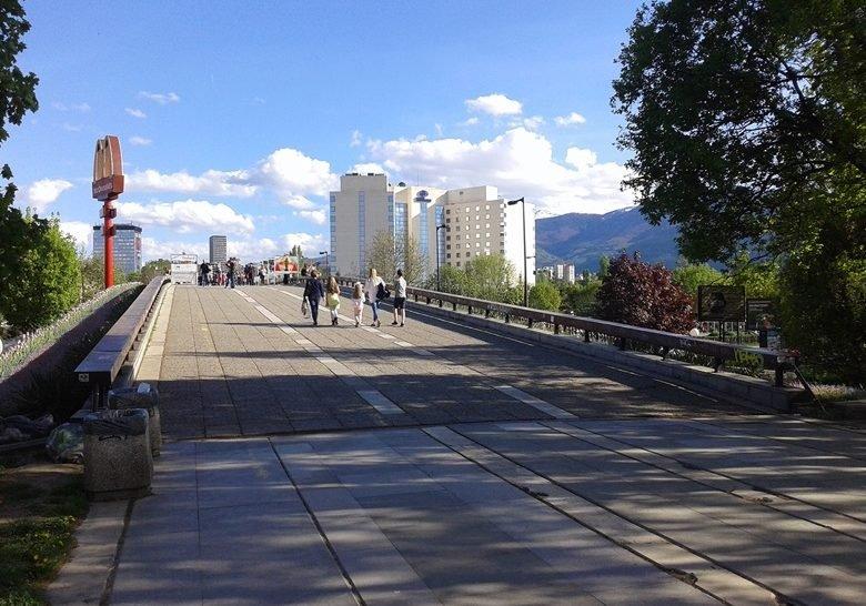 Lover's bridge Sofia