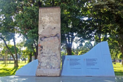 Piece of Berlin Wall Sofia