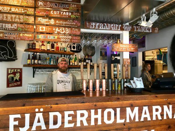 Fjäderholmarnas Bryggeri Stockholm