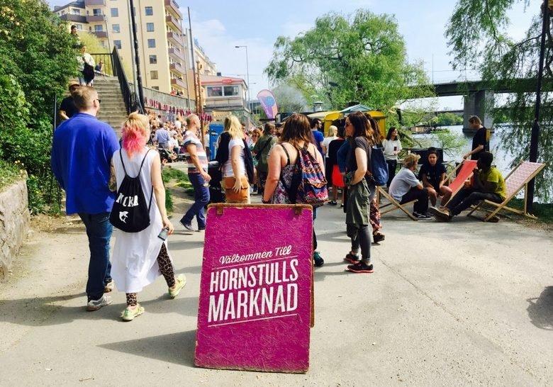 Hornstull's Market Stockholm