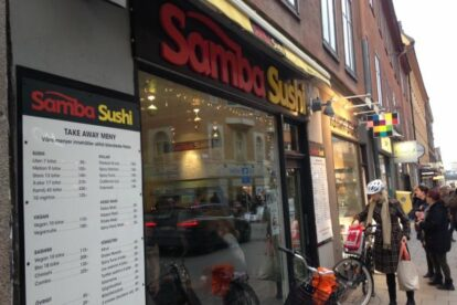 Samba sushi Stockholm