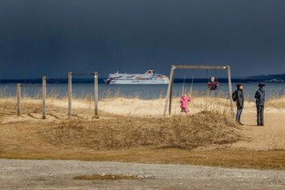 Pikakari beach Tallinn