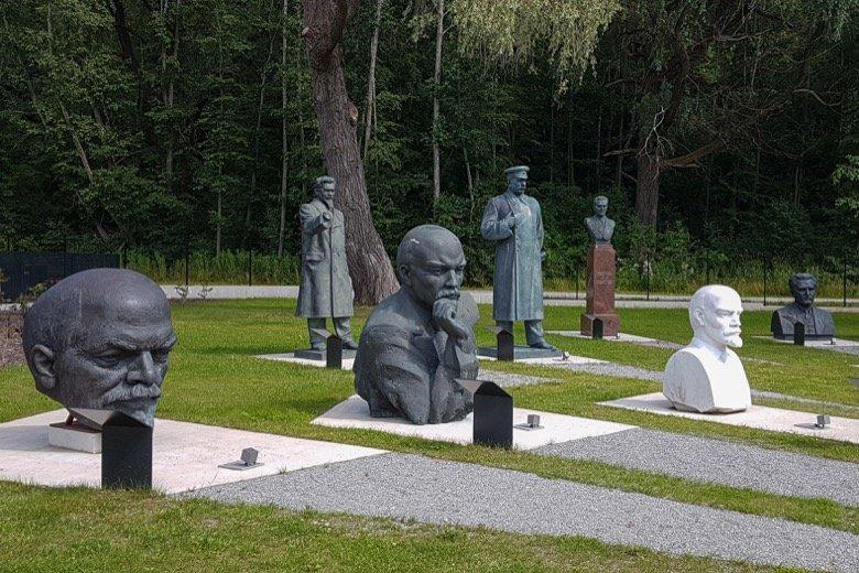 Old Soviet Sculptures Tallinn