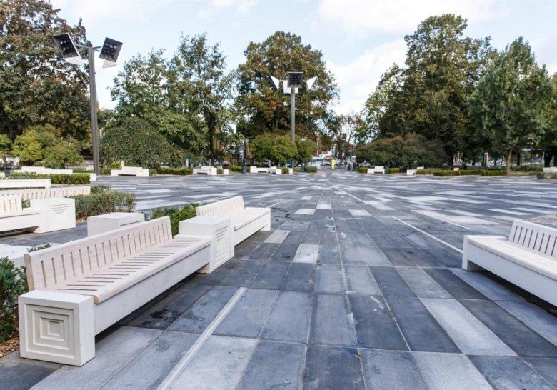 Tammsaare Park Tallinn