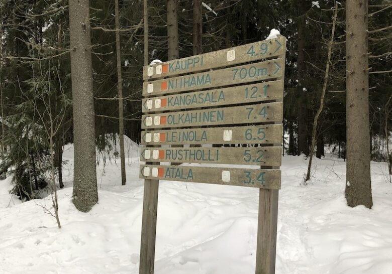 Kauppi-Kangasala Ski Trail Tampere