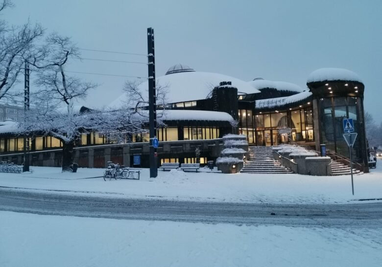 Metso Library Tampere