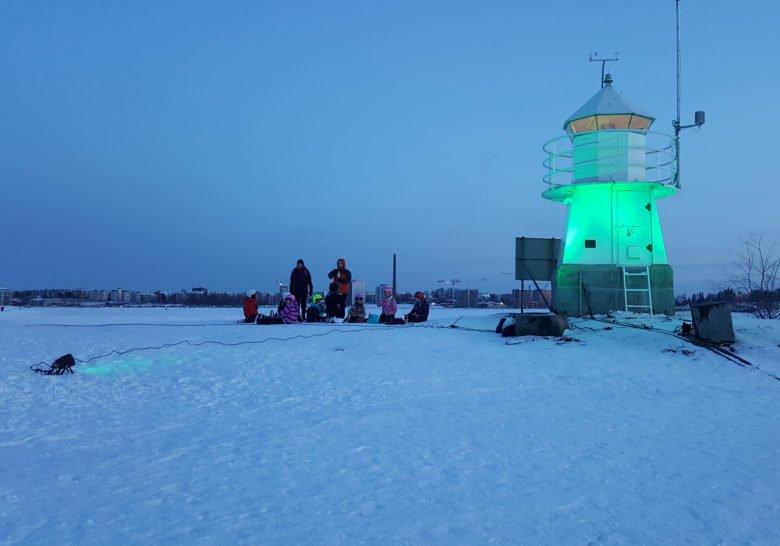 Siilinkari Lighthouse Tampere