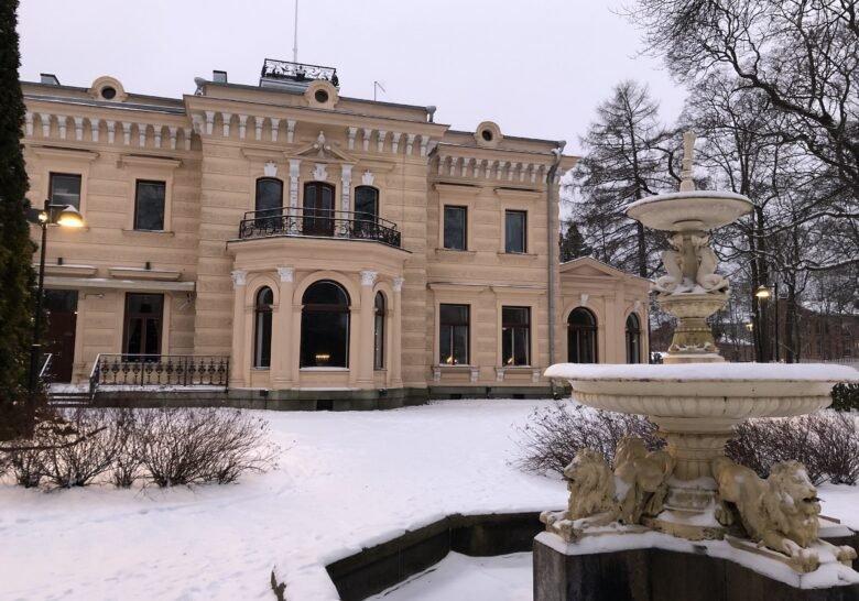 Wilhelm von Nottbeck Park Tampere