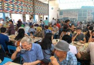 Chorsu Street Food Market Tashkent