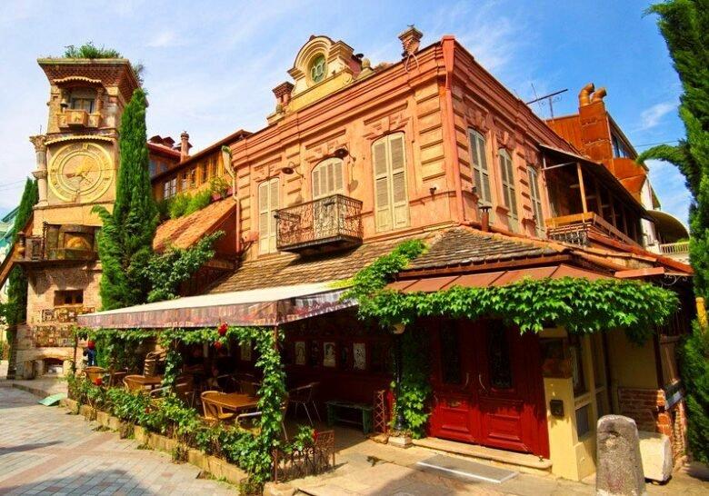 Cafe Gabriadze Tbilisi