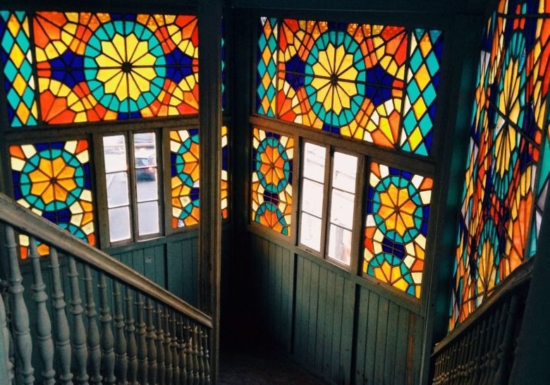 Colorful Glass House Tbilisi