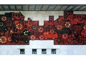 Zurab Tsereteli Mosaic Tbilisi