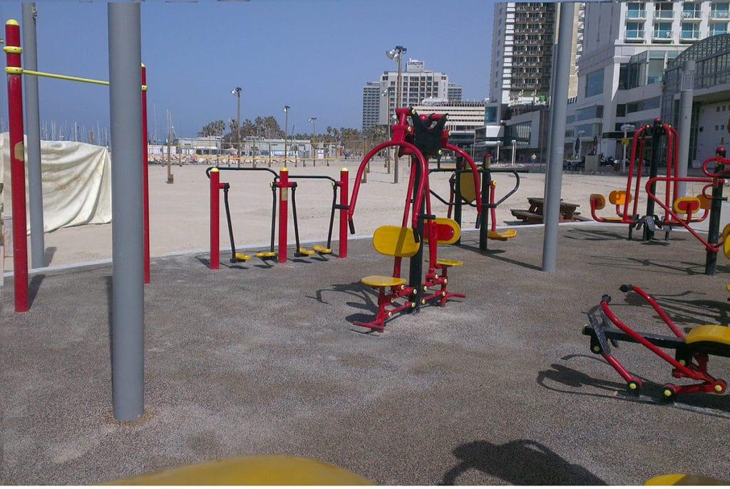Gordon gym spot workout outside tel aviv tips by