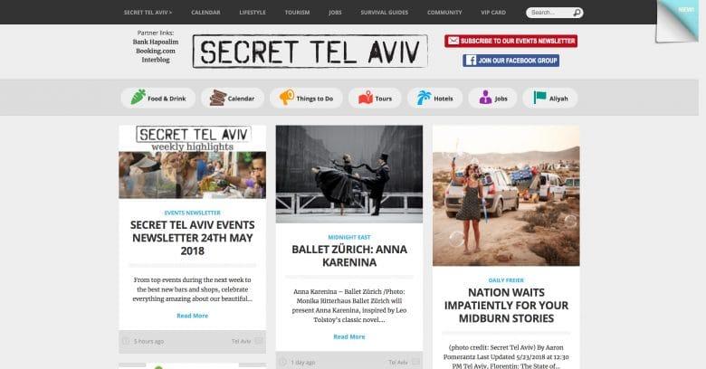 Secret Tel Aviv Blog