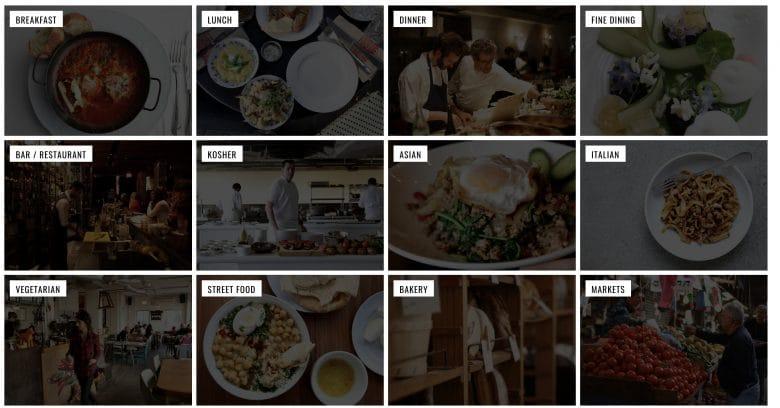 Tel-Aviv Foodie Guide blog
