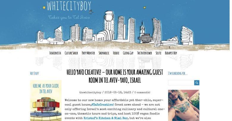 White City Boy Tel Aviv Blog