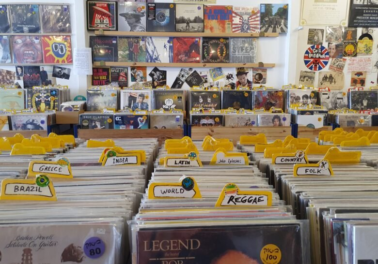 Beatnik Records Tel Aviv