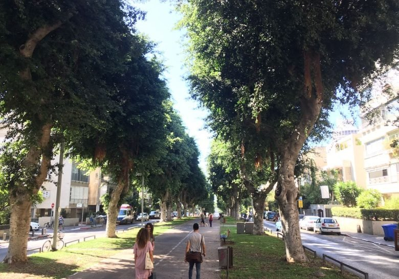 Ben Tsiyon Boulevard Tel Aviv