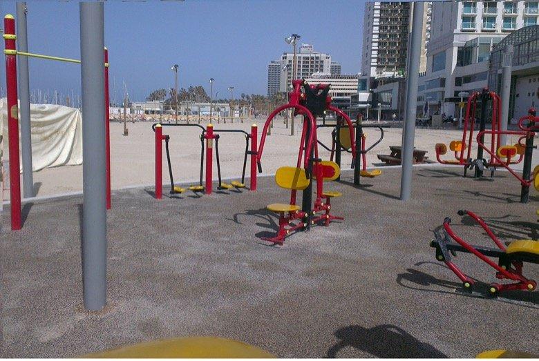 Gordon gym spot Tel Aviv