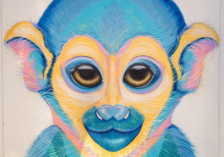 Monkey Mural Tel Aviv