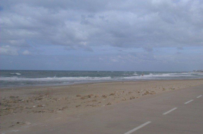 The north beach stripe Tel Aviv