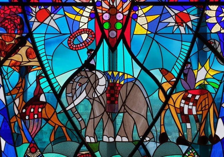 1926 Stained Glass @ De Bijenkorf  The Hague