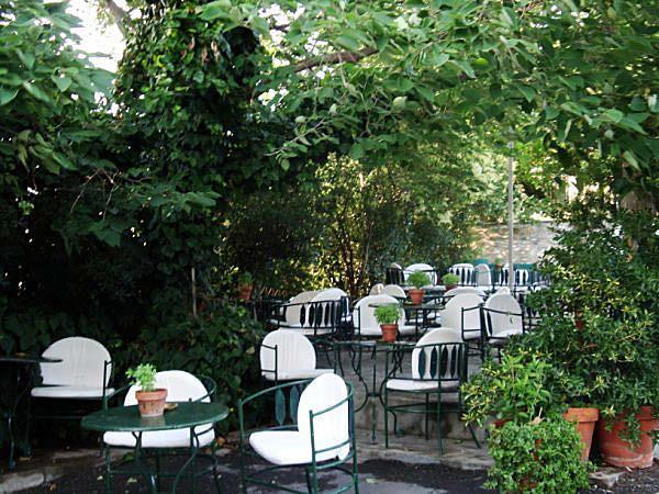 Cafe Aithrio at Yedikule Thessaloniki
