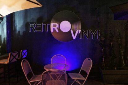 Retro Vinyl Bistro Club Tirana
