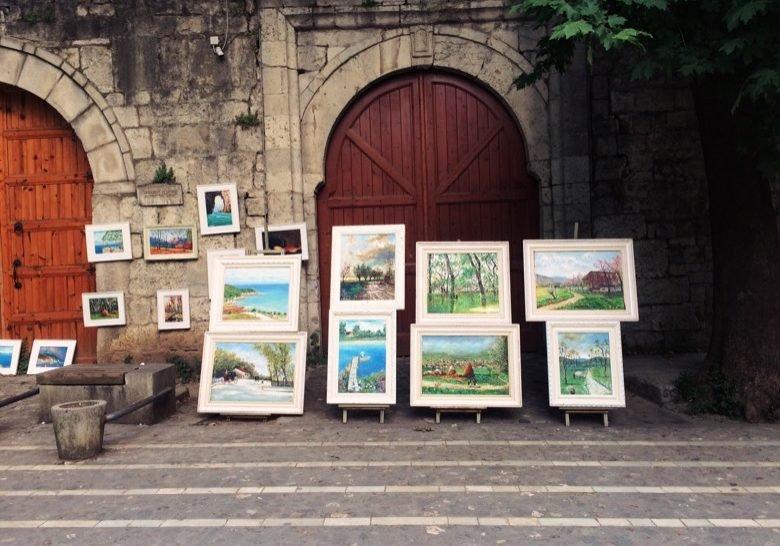 Painters on the Street Tirana