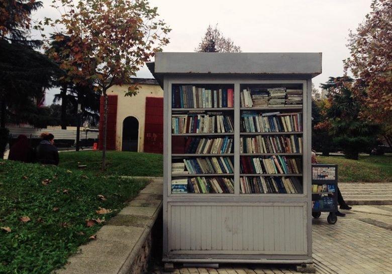 Used Book Kiosks Tirana