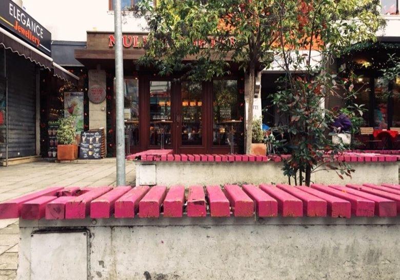 Wilson Square Benches Tirana