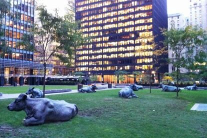 Business District Sculptures Toronto