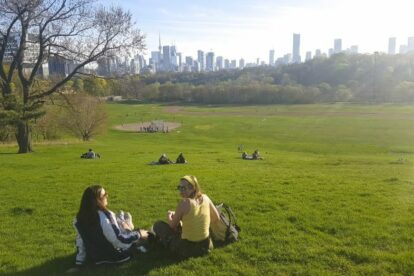 Riverdale Park East Toronto