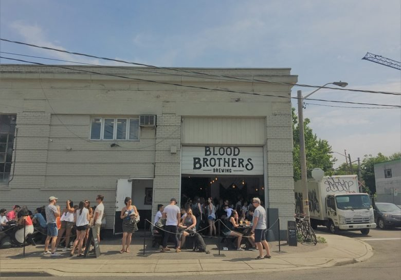 Blood Brothers Brewing Toronto