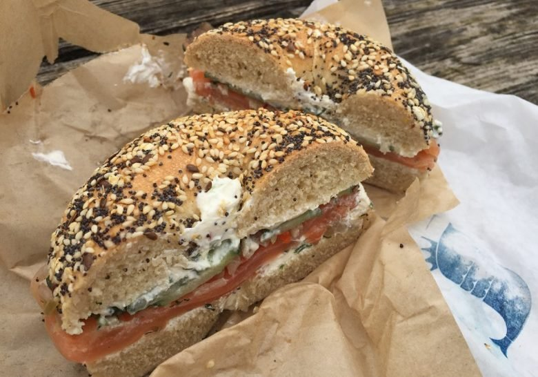 Schmaltz Appetizing – Smoked fish and bagels