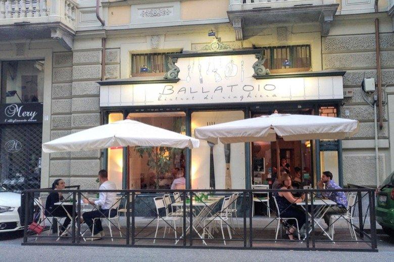 Ballatoio Bistrot – Little Parisian-vibe bistrot