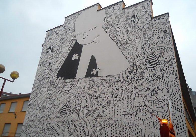Millo's Street Art Turin