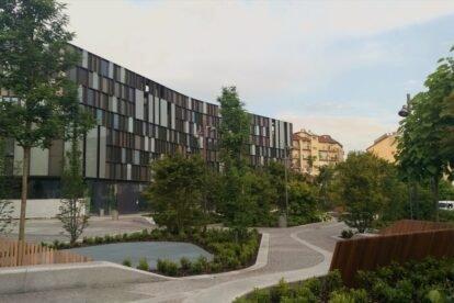 Nuvola Lavazza Square & Garden Turin